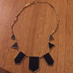 Edgy geometric necklace